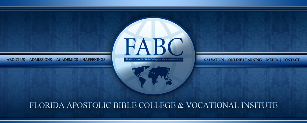 Florida Apostolic Bible College Vocational Institute Cantonment Fl